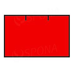 Etikety do kleští, CONTACT 25 x 16 mm, rovné, červené