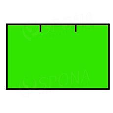 Etikety do kleští CONTACT, rovné, 25 x 16 mm, zelené