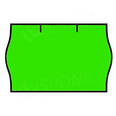 Etikety do kleští, CONTACT 25 x 16 mm, kulaté, zelené