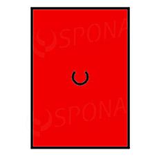 Etikety do kleští, MOTEX 16 x 23 mm, červené
