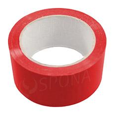Samolepicí páska 48 mm x 66 metrů, červená