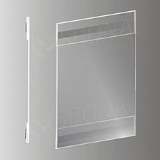 Magnetická plakátová kapsa typ C vertikální, formát A5, antireflexní PVC
