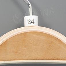 Minireitery 24, 25 ks, bílé