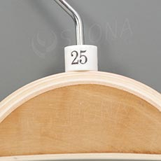 Minireitery 25, 25 ks, bílé
