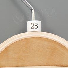 Minireitery 28, 25 ks, bílé