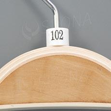 Minireitery 102, 25 ks, bílé