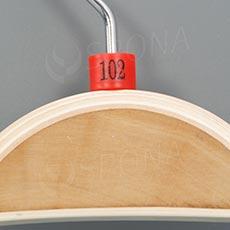 Minireitery 102, 25 ks, červené