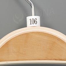 Minireitery 106, 25 ks, bílé