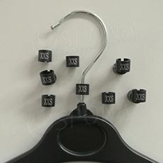 Minireitery XXS, 25 ks, černé, stříbrný tisk