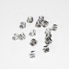 Minireitery XS, 25 ks, transparentní