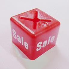 Minireitery SALE čtverec, červené