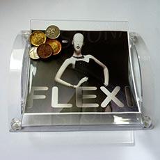 Mincovník FLEXI, akryl