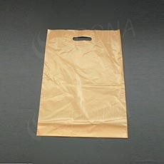 Taška LDPE 35 x 50 + 5 cm, béžová