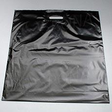 Taška LDPE 55 x 55 + 5 cm, černá