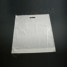 Taška LDPE 55 x 60 + 5 cm, bílá