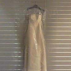 Obal na šaty, 70 x 110 cm, materiál PE