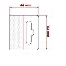 HANG háček BEST na EURO závěsy, 52 x 44 mm