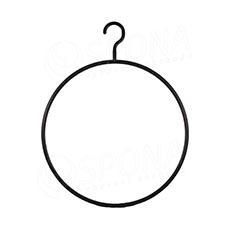 Plastová ramínka kruhová, průměr 37 cm černé