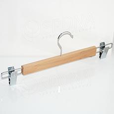 Ramínko dřevěné BT kalhotové, se skřipci, 35 cm