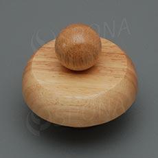 Krček k panně ELITE dřevěný, velikost 38, nízký, světlý