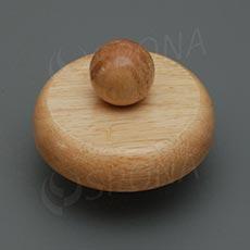 Krček k panně ELITE dřevěný, velikost 42, nízký, světlý