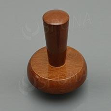 Krček k panně ELITE dřevěný, velikost 42, vysoký, tmavý