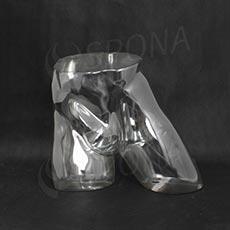 Torzo boky pánské EKO 02, transparentní