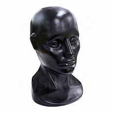 Hlava LEO plastová, černá