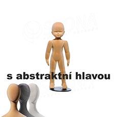 Figurína dětská FLEXIBLE 9 měsíců, abstrakt, tělová, flok, bez podstavce