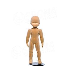 Figurína dětská FLEXIBLE 9 měsíců, prolis, tělová, flok, bez podstavce