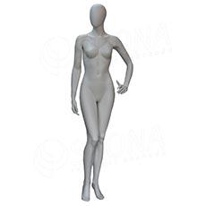 Figurína dámská FLASH na focení, matná bílá