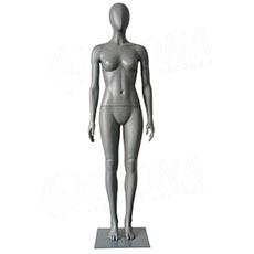 Figurína dámská ABSTRAKT GREY 01, šedý plast