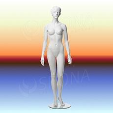 Figurína dámská ADRIANA 01, prolis, bílá matná