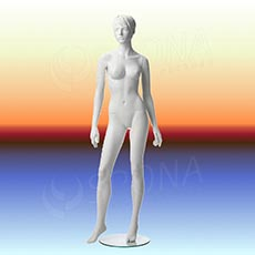 Figurína dámská ADRIANA 02, prolis, bílá matná