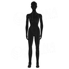 Figurína dámská FLEXIBLE, prolis, černá, flokovaná