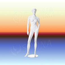 Figurína dámská LIZ 01, prolis, bílá matná