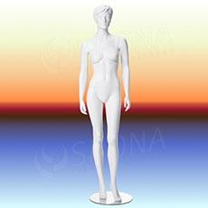 Figurína dámská LIZ 02, prolis, bílá matná