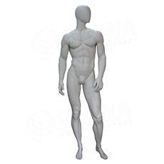 Figurína pánská FLASH na focení, matná bílá