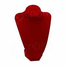 Stojánek na šperky DEKOLT červený, 24 cm