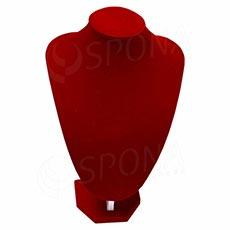 Stojánek na šperky DEKOLT červený, 30 cm