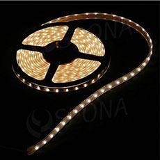LED diodový pásek samolepící 300 x LED teplá bílá 12V/2A, 5 metrů