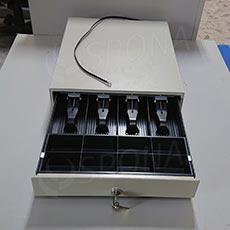 Pokladní zásuvka EC 350 D, 4B/8M, béžová, kov