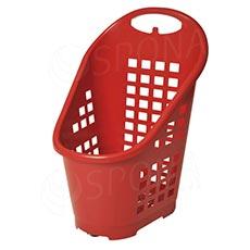Košík nákupní Flexicart, objem 65 l, červený