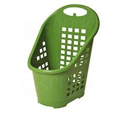 Košík nákupní Flexicart, objem 65 l, zelený