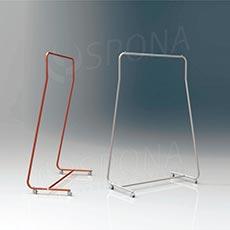 Štendr SIMPLY 1510, výška 170 cm, šířka 96 cm, plastová kolečka
