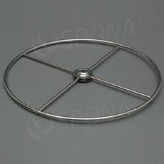 Stojánek na stůl, kruh průměr 300 mm, chrom