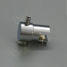 WIRE úchyt police otočný jednostranný pro lanko průměru 1,5 - 2,0 mm, chrom