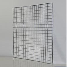 SÍŤ 5 mříž 1, rozměr 100 x 100 cm, chrom