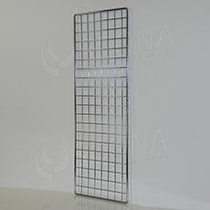 SÍŤ 5 mříž 1, rozměr 150 x 50 cm, chrom