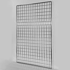 SÍŤ 5 mříž 1, rozměr 150 x 100 cm, chrom